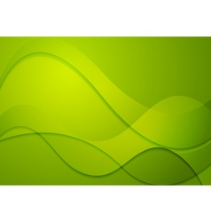 Colourful abstract wavy background vector