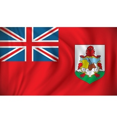 Flag of Bermuda vector image