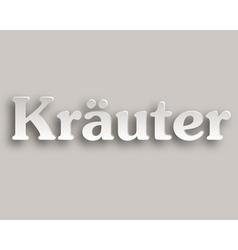 Kraeuter paper style vector
