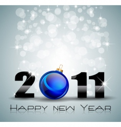 new year celebration background vector image