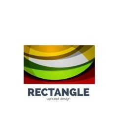 Rectangle logo vector