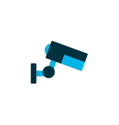 video camera icon colored symbol premium quality vector image