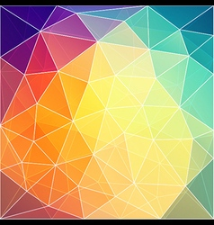 abstract triangle pattern in background design vector image vector image