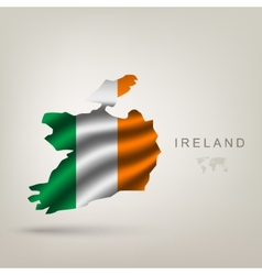 Flag of Ireland as a country vector image vector image