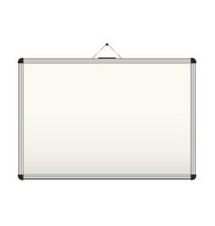 blank whiteboard vector image vector image