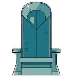 iron throne vector image