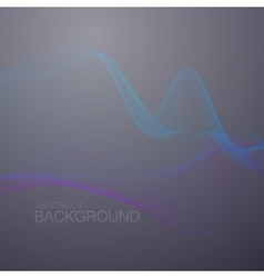 3D abstract digital wave vector