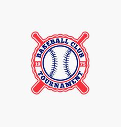 Baseball logo badge-2 vector