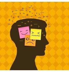 Concept emotions vector