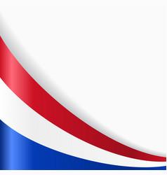Dutch flag background vector
