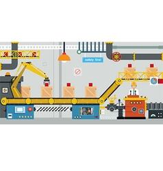 Factory industry vector