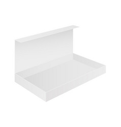 open box white package vector image