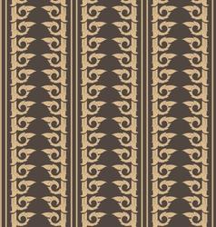 Wallpaper thai pattern vector
