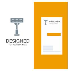 construction light stadium grey logo design and vector image