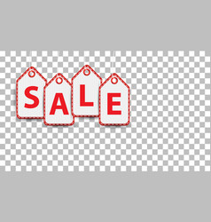 sale hanging price tag pictogram icon pictogram vector image