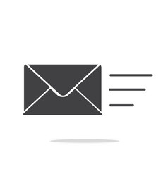 Sending message icon vector