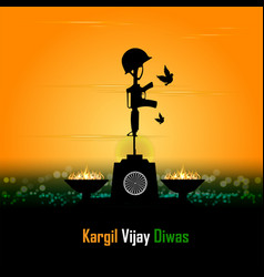 Silhouettes soldiers abstract concept for vector