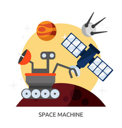 Space space machine image vector