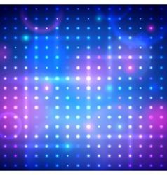 Disco lights vector image