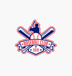 Baseball logo badge-11 vector