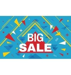 Big super sale horizontal banner vector