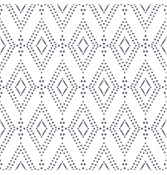 Ikat seamless pattern fashion background vector