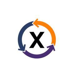 Management process letter x vector