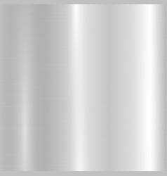 Silver metallic gradient vector