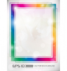 abstract colorful backg vector image