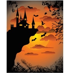 Scary Background vector image vector image