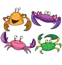 crabs vector image vector image