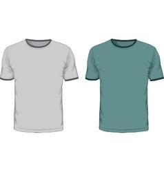 Mens t shirts design template vector