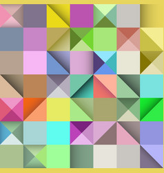 rectangle seamless pattern abstract background vector image