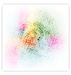 Abstract colorful bright grunge background vector