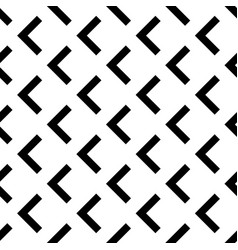 abstract seamless geometric pattern with arrows vector image