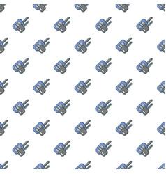 Car keys pattern seamless vector