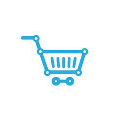 cart chip technology symbol logo vector image