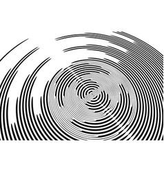 Circular rotation background vector