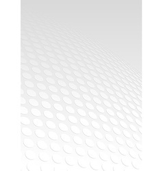 Dotted perspective background vector
