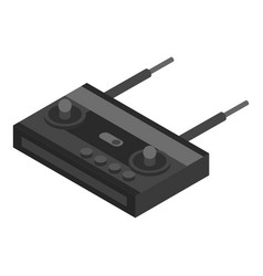 drone remote control icon isometric style vector image