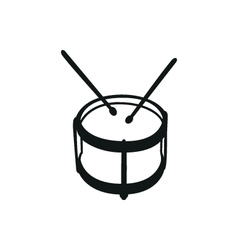 Drums musical instruments drumstick drum vector