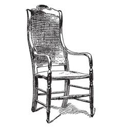 general lees chair vintage vector image