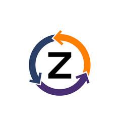 Management process letter z vector