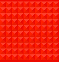 Red mosaic pattern background polygonal vector
