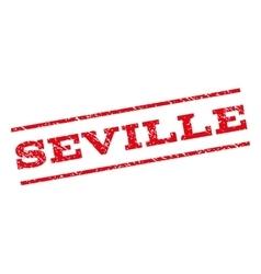 Seville Watermark Stamp vector image