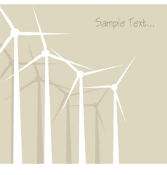 Windrad windmill windward background vector