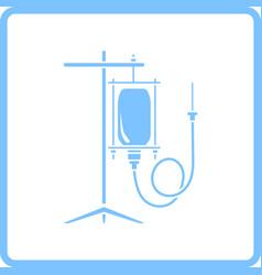 drop counter icon vector image vector image