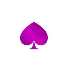 poker icon Flat vector image