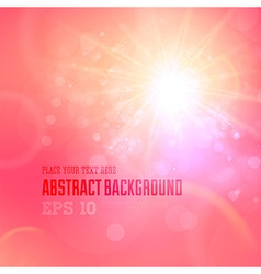 Soft Coloured Pink Abstract Background vector image