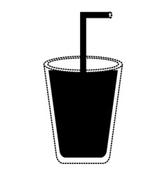 glass icon image vector image vector image